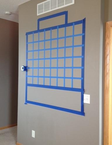 Chalkboard lines