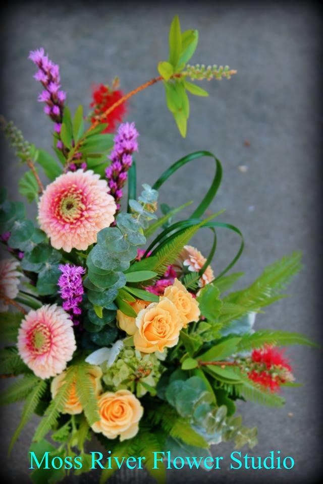 Moss River flowers