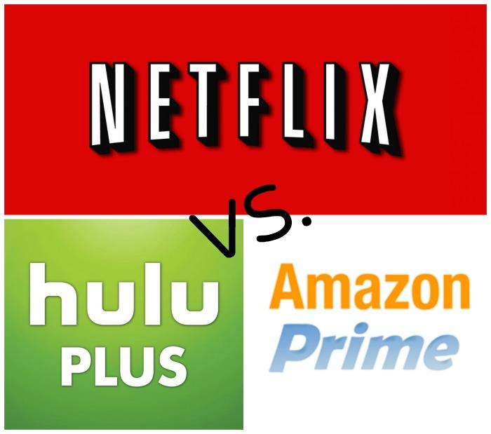 Netflix vs Hulu Plus vs Amazon Prime
