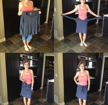 T-Shirt-Skirt