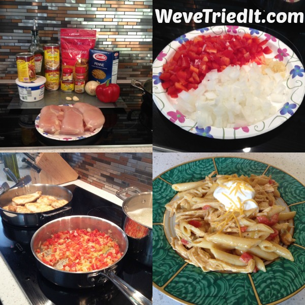 Chicken Enchilada Pasta Recipe