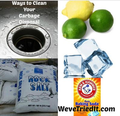 5 ways to clean your garbage disposal weve tried it. Black Bedroom Furniture Sets. Home Design Ideas