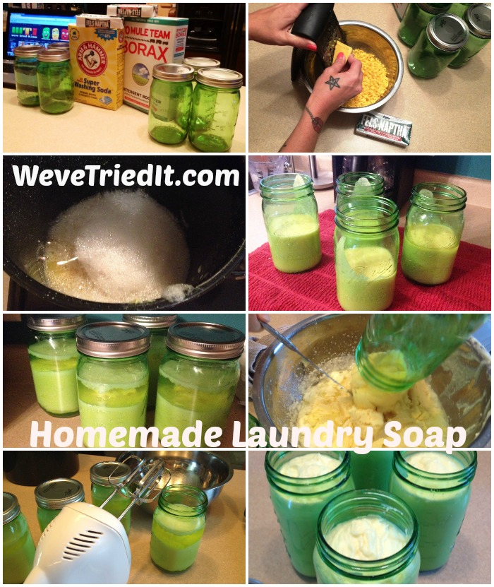 Homemade Laundry Soap WTI