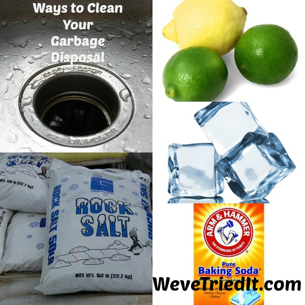 Ways to clean your garbage disposal