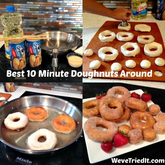 Best 10 minute doughnuts