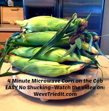 Corn on the Cob Weve Tried It
