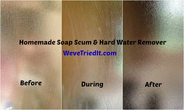 Homemade Hard Water Remover
