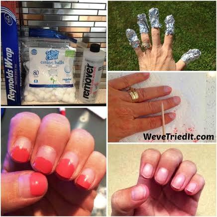 DIY Gel Nail Polish Removal Weve Tried It