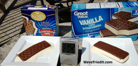 Ice Cream Sandwich Melt