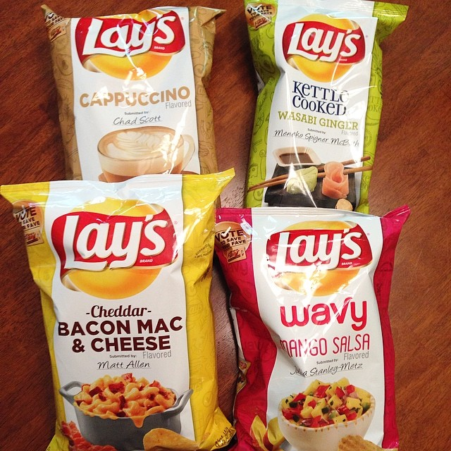 Lays 4 flavor finalists