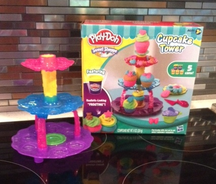 Play Doh Cupcake Tower
