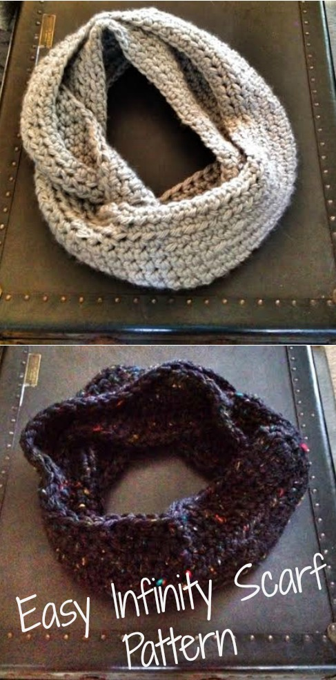 Easy How To Crochet Infinity Scarf Weve Tried It