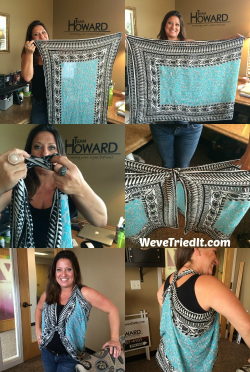 How To Turn A Scarf Into A Vest Weve Tried It