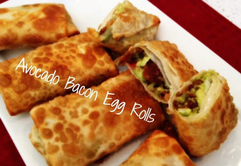 Avocado Bacon Egg Rolls Weve Tried It