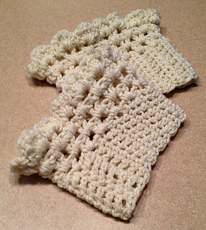 Crochet Boot Cuffs Weve Tried It