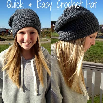 Easy Crocheted Hat Weve Tried It