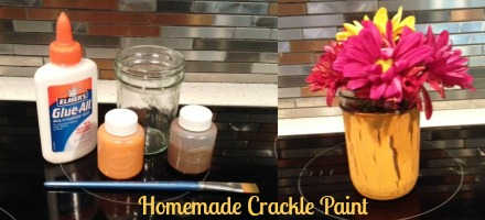 Homemade Crackle Paint DIY