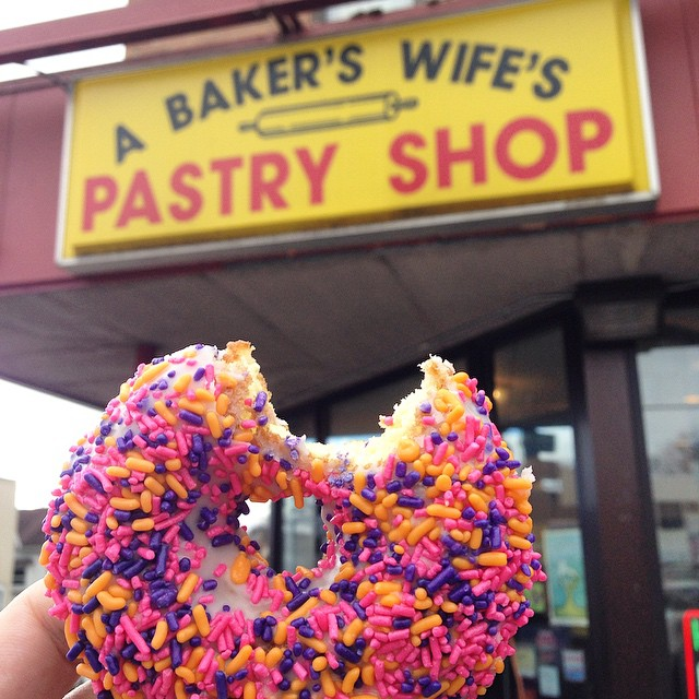 A Bakers Wifes Pastery Shop