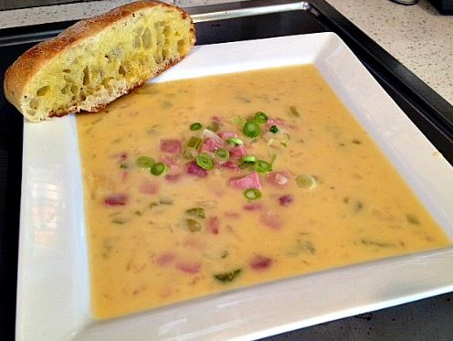 Cheesy Hash Brown Soup Recipe