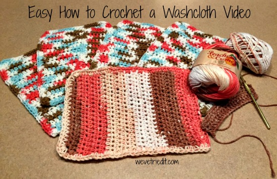 Crochet Washcloth Weve Tried It