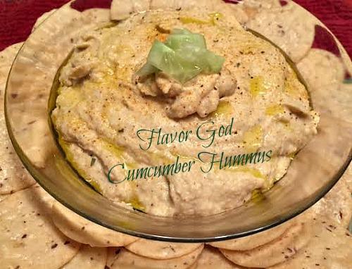 Cucumber Hummus Flavor God