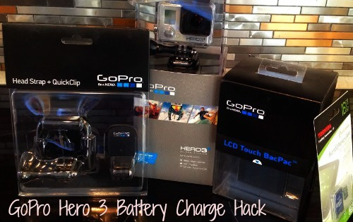 GoPro Hero 3 Battery Charge Fix