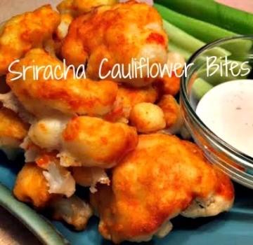 Sriracha Cauliflower Bites  360