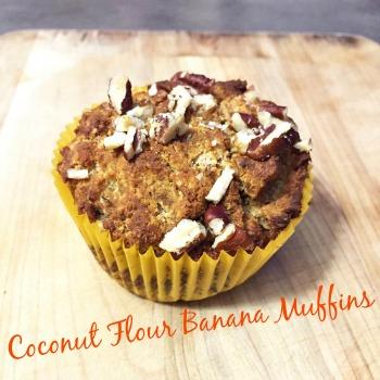 Banana Muffins 350