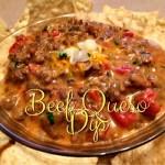Beef Queso Dip Recipe