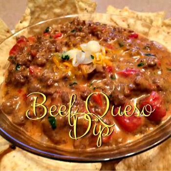 Beef Queso Dip 350