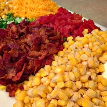 Corn dip ingredients 350