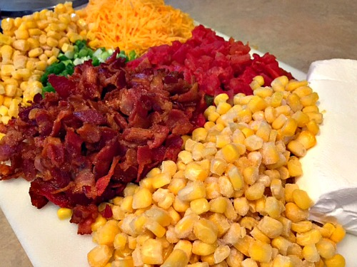 Corn dip ingredients