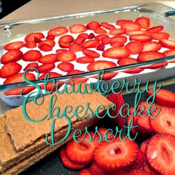 Strawberry Cheesecake Dessert 350