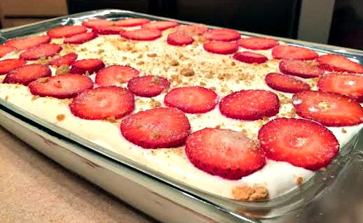 Strawberry Cheesecake Dessert Recipe