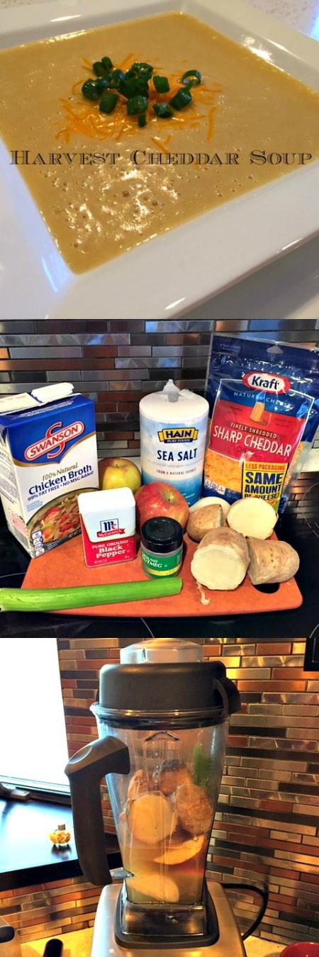 Vitamix Harvest Cheddar Soup