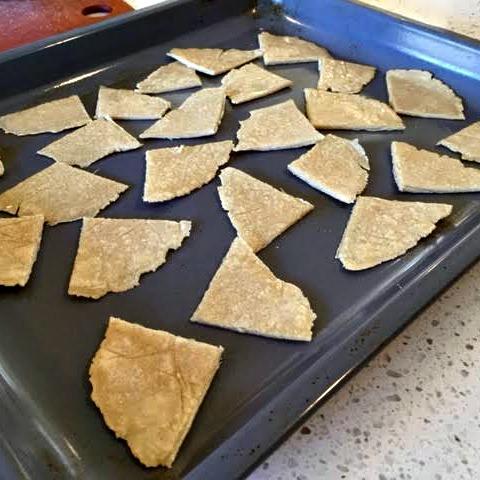 Chips baking