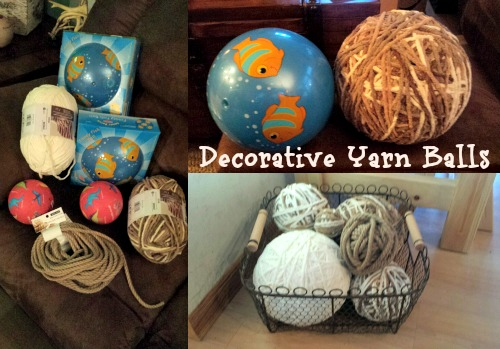 Decorative Yarn Balls