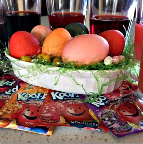 Kool Aid Easter Eggs Weve Tried It DIY
