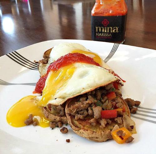 Mina Breakfast stack