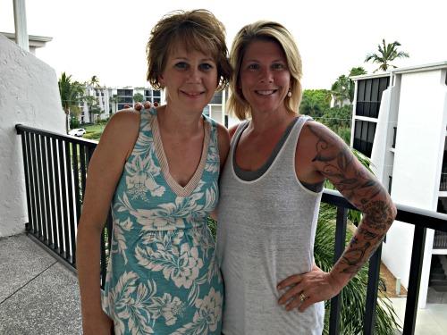 Missy Germain and Shirley Erdman