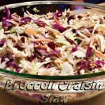 Broccoli Craisin Slaw Recipe