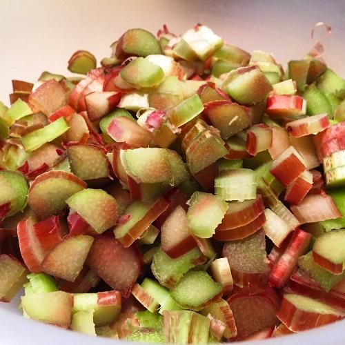 Rhubarb Chopped