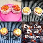 Beer Can Bacon Burgers Recipe