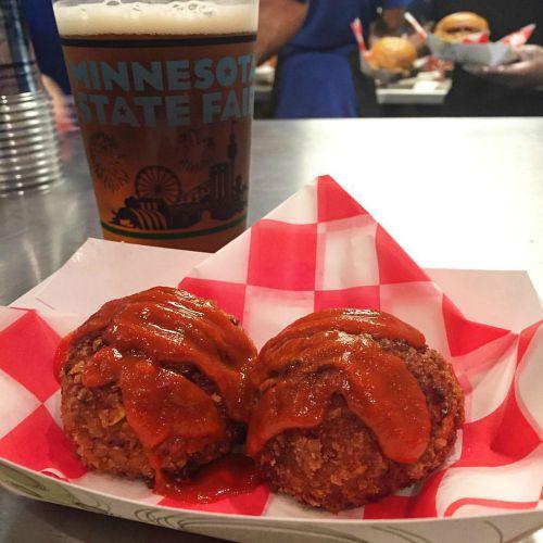 State Fair Alton's Sriracha Balls