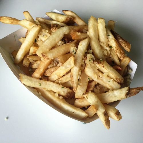 State Fair Garlic Fries