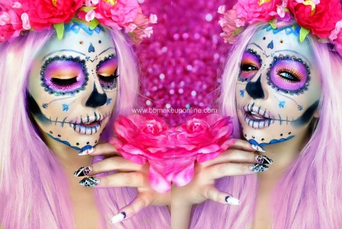 Brooke Halloween Makeup