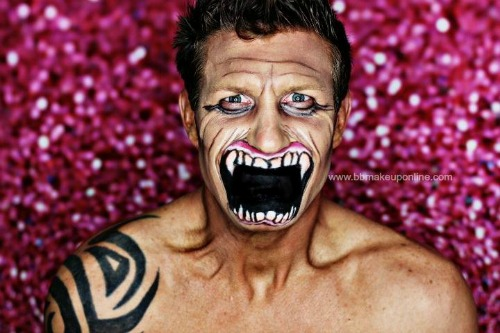 bb Halloween makeup