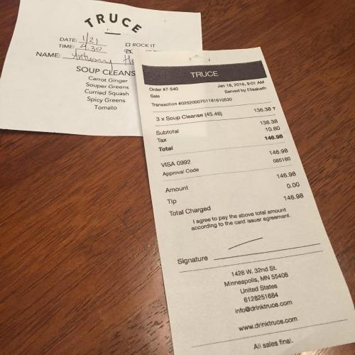 Truce Soup Cleanse 4