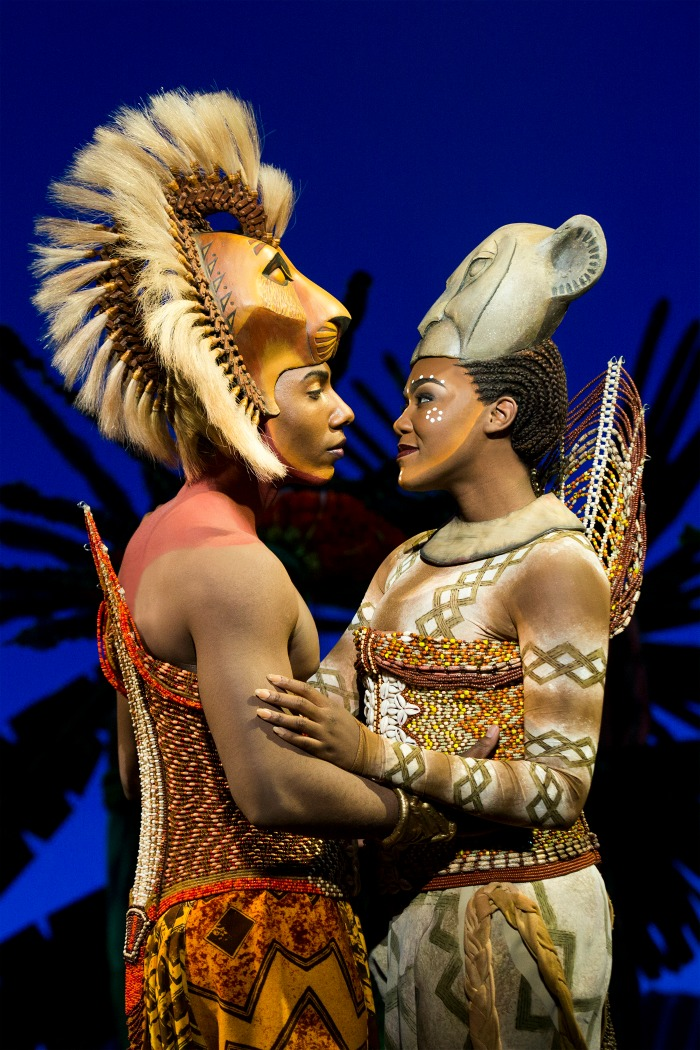 9 Aaron Nelson (Simba) and Nia Holloway (Nala). ©Disney. Photo by Matthew Murphy_