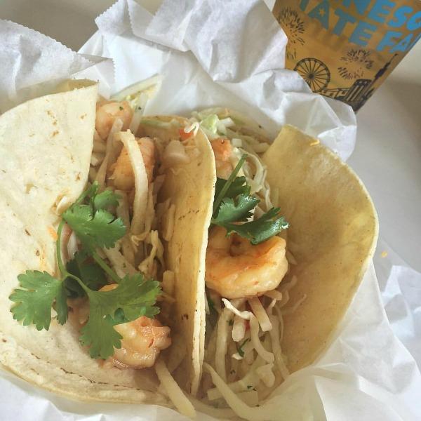 MN State Fair Barbecued Shrimp Taco
